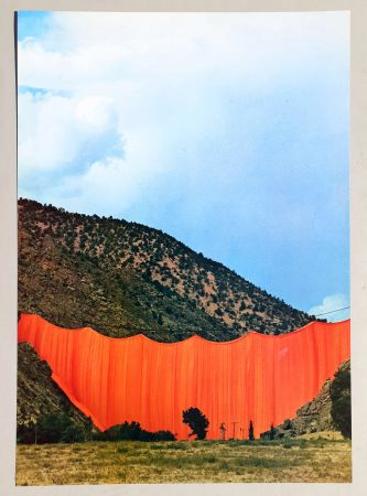 Offset Christo - Valley curtain, Rifle - Colorado 3-4