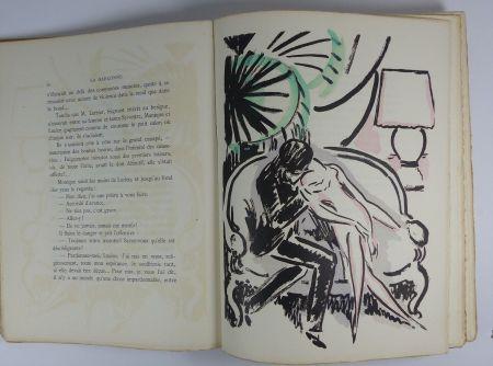 Libro Ilustrado Van Dongen - [Van Dongen] Victor Margueritte. La Garçonne. Ex. sur Hollande