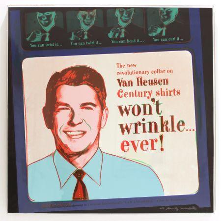 Serigrafía Warhol - Van Heusen (Ronald Reagan) (FS II.356)