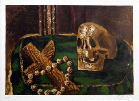 Litografía Braque - Vanitas