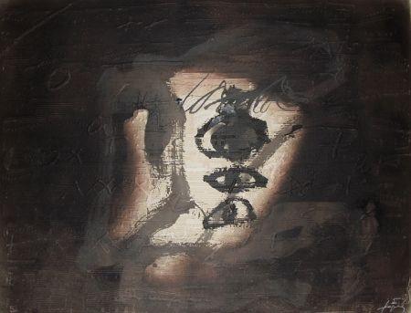 Grabado Tàpies - Variation