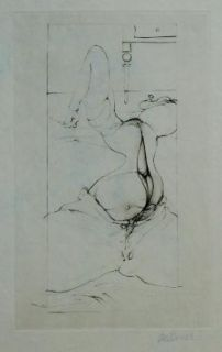 Aguafuerte Bellmer - Variations Autour De Madame Edwarda