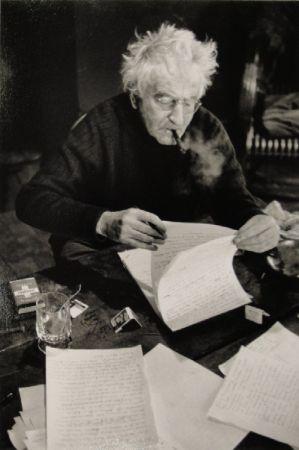 Fotografía Scheidegger - VARLIN (Willy Guggenheim) schreibt den Text über Karl Geiser