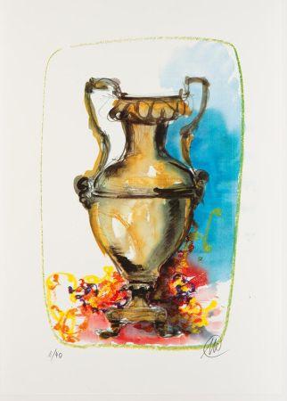 Serigrafía Lüpertz - Vase 1