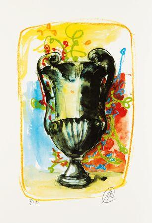 Serigrafía Lüpertz - Vase 3
