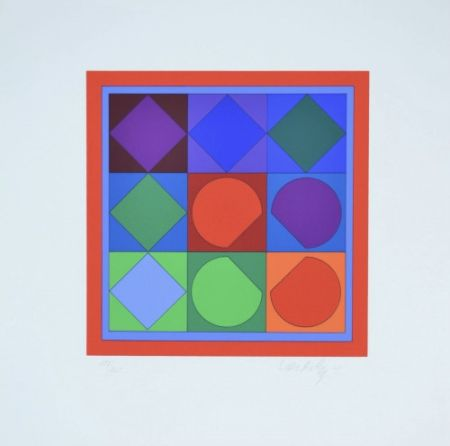 Múltiple Vasarely - Vega