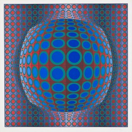 Serigrafía Vasarely - Vega