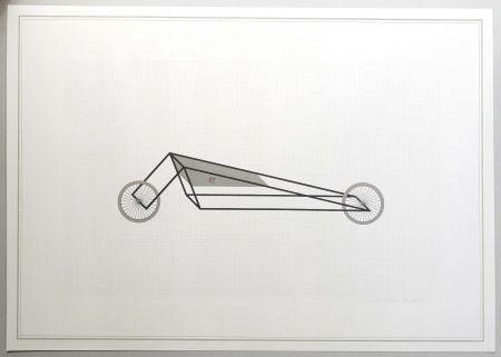 Litografía Piacentino - Vehicle sculpture. Wall sculpture (b)