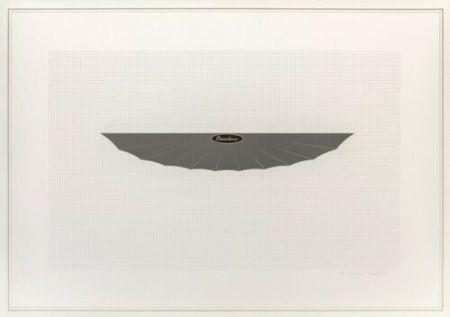 Litografía Piacentino - Vehicle sculpture. Wall sculpture (d)