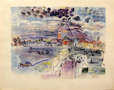 Litografía Dufy - Venise