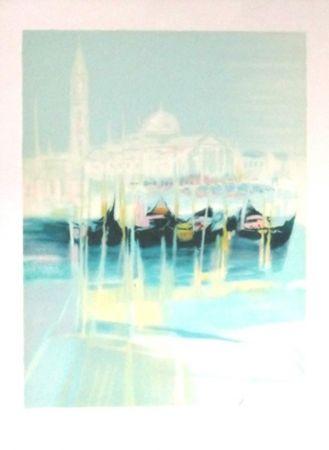 Litografía Hemeret  - Venise