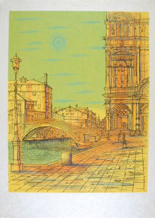 Litografía Carzou - Venise