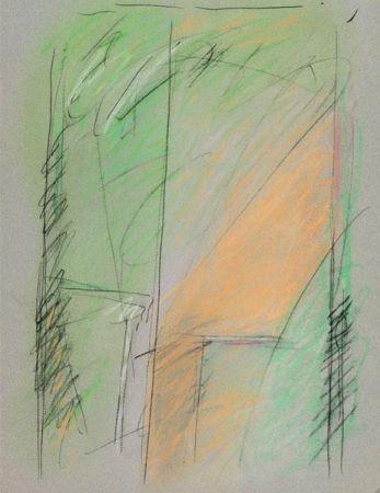 Grabado Ràfols Casamada - Verd gran