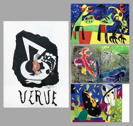 Libro Ilustrado Chagall - Verve 27 28