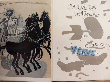 Libro Ilustrado Braque - Verve 31 32