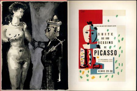 Libro Ilustrado Picasso - VERVE N° 29-30. Vallauris, suite de 180 dessins de Picasso