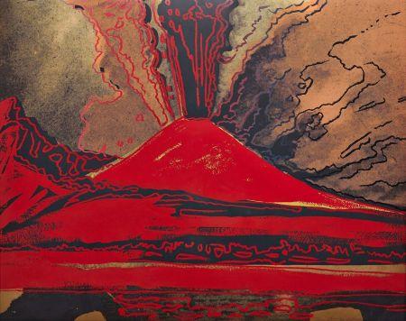 Serigrafía Warhol - Vesuvius (FS II.365)