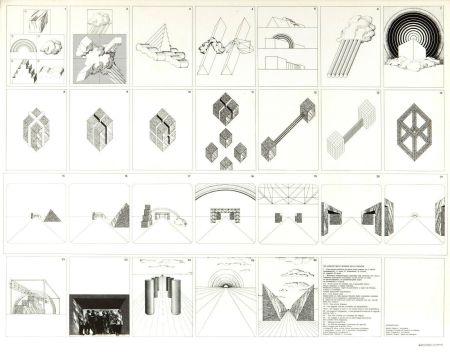 Litografía Superstudio - Viaggio nelle regioni della ragione
