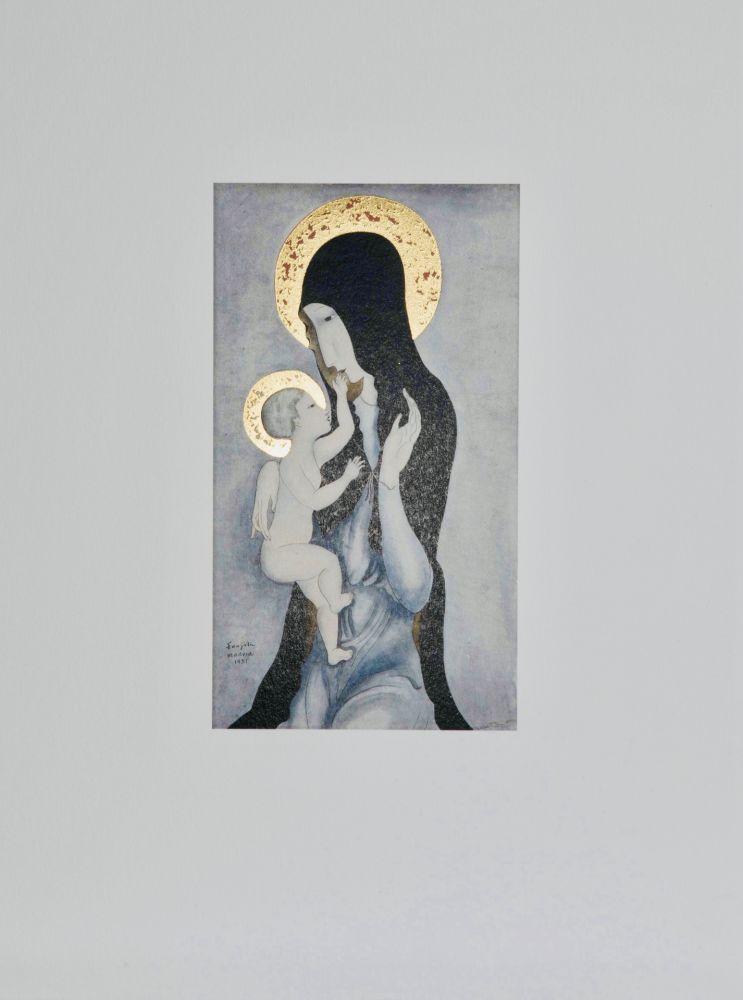 Múltiple Foujita - Vierge à l'enfant