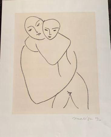 Litografía Matisse - Vierge et l'enfant