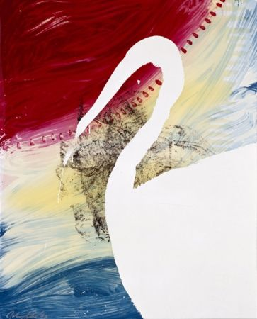 Serigrafía Schnabel - View of Dawn from the Tropics-Roy