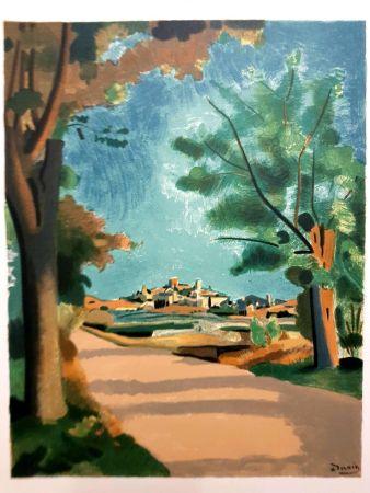 Litografía Beaudin - Village de Provence