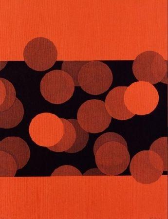 Aguafuerte Bury - Vingt-quatre disques entre deux