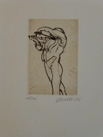 Grabado Weisbuch - Violoniste