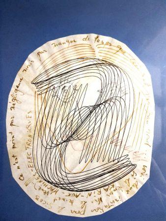 Litografía Vasarely - Visage