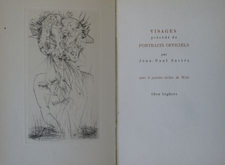 Libro Ilustrado Wols - Visages