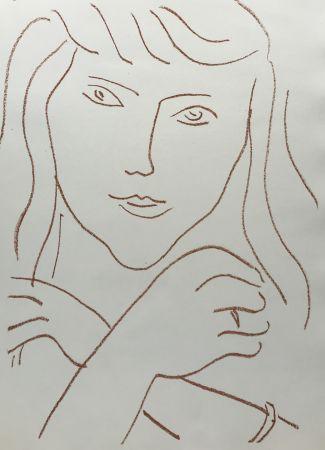 Litografía Matisse - Visages IV
