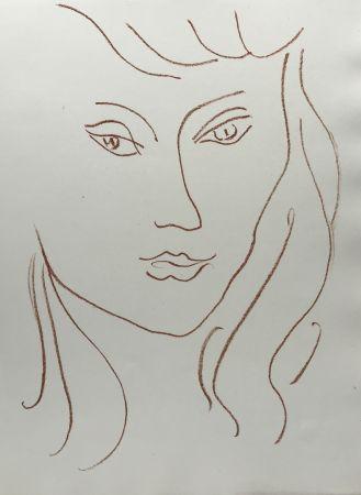Litografía Matisse - Visages VI