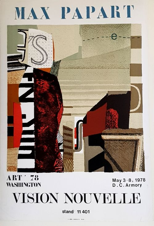 Litografía Papart - Vision Nouvelle  Art 78 Washington