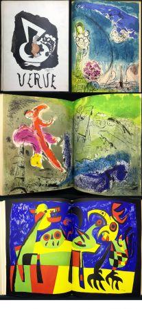 Libro Ilustrado Chagall - VISIONS DE PARIS. VERVE Vol. VII. N° 27-28 (1953)