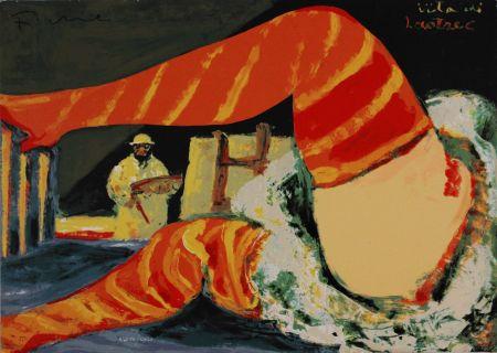 Serigrafía Fiume - Vita di Lautrec