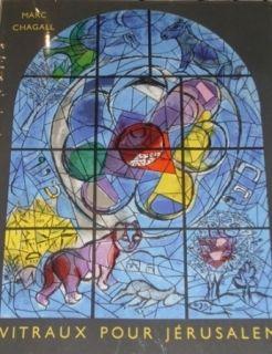 Libro Ilustrado Chagall - Vitraux de Jerusalem
