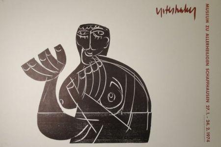 Grabado En Madera Grieshaber - Vogelfrei II