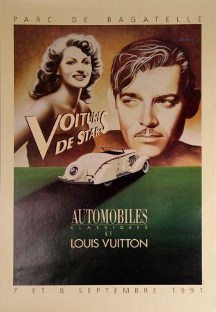 Cartel Razzia - Voitures de Stars Automobile et Louis Vuiton