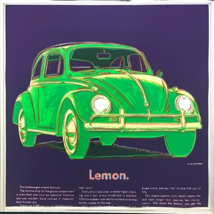 Serigrafía Warhol - Volkswagen (FS II.358)