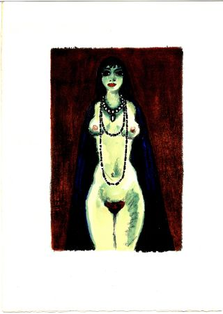 Libro Ilustrado Van Dongen - Voltaire : LA PRINCESSE DE BABYLONE. 48 lithographies en couleurs (1948)