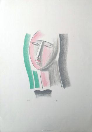 Litografía Tozzi - Volto
