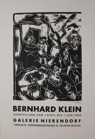 Grabado En Madera Klein - Vor dem Haus