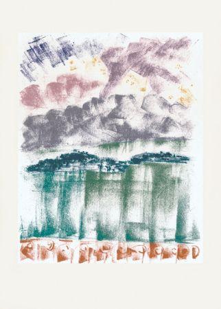 Litografía Masson - Voyage à Venise : La nuit à Bellagio