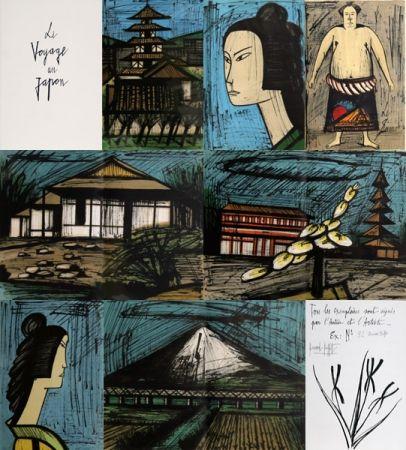 Litografía Buffet - Voyage au Japon