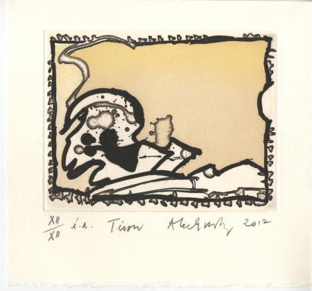 Grabado Alechinsky - Voyage De La Racine