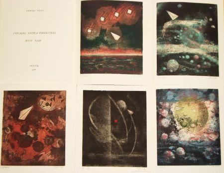 Libro Ilustrado Visat - Voyages extra-terrestres d'un naïf