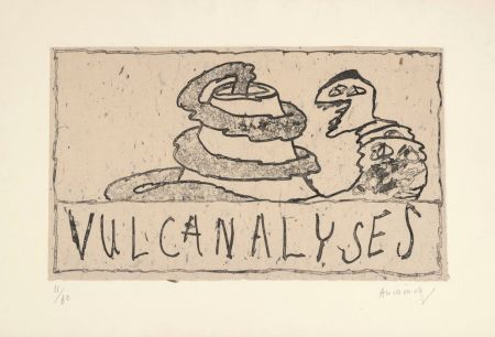 Grabado Alechinsky - Vulcanalyses