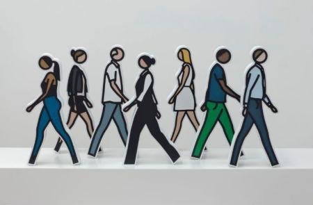 Sin Técnico Opie - Walking Statuettes, full set of 7
