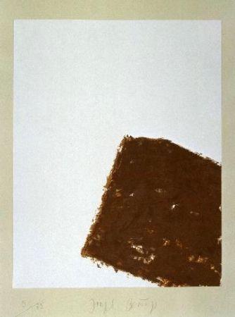 Litografía Beuys - Wandernde Kiste Nr. 3