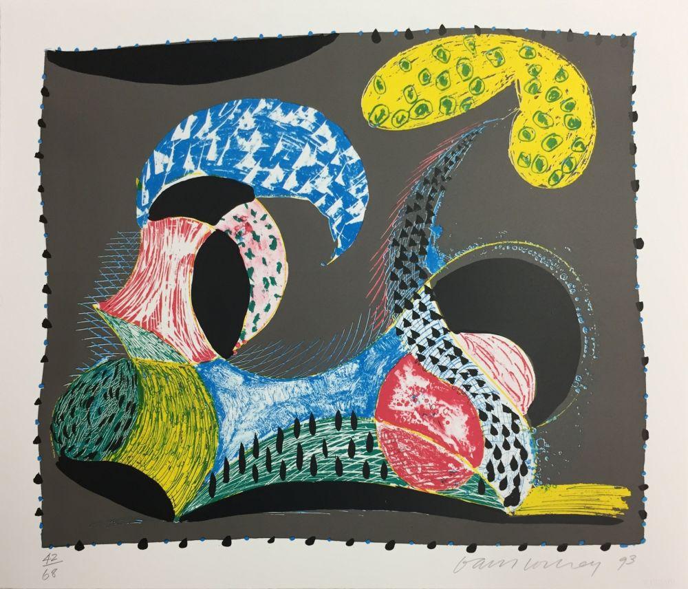 Serigrafía Hockney - WARM START